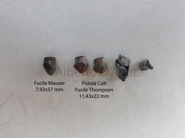 Foto 9 - Alcune delle ogive recuperate