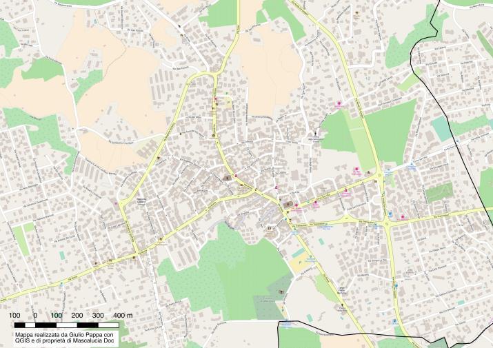 strade mascalucia centro