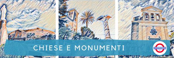 chiese e monumenti percorso storico