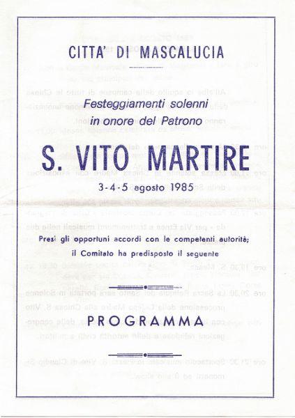 Festa 1985 A
