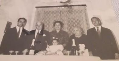 Nucleo familiare famiglia Nicosia
