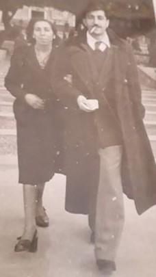 Filippo Nicosia e Giustina Ubaldi
